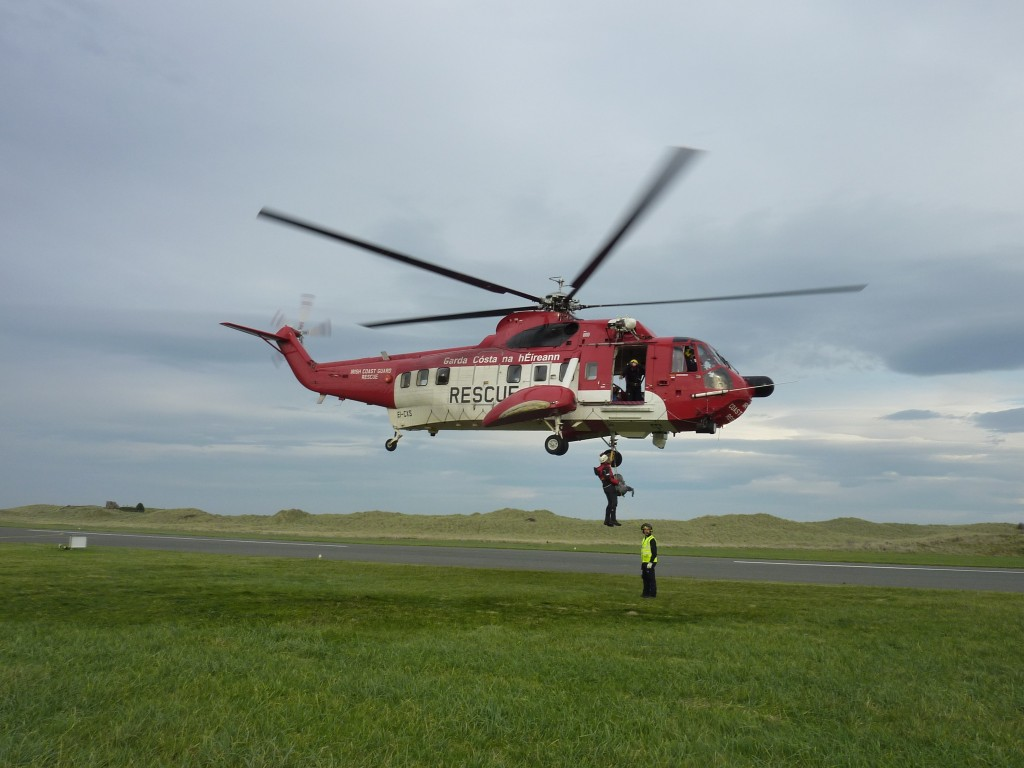 Training with Rescue 118